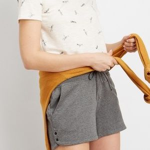 French Terry Shorts Gray